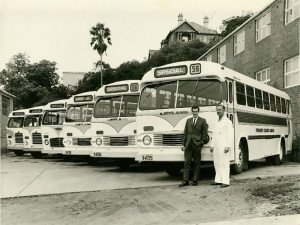 Forest Buses approx 1960