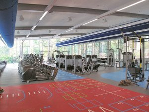 The gym at Ku-ring-gai Fitness and Aquatic Centre