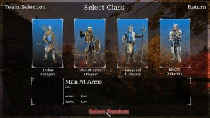 chivalry classes